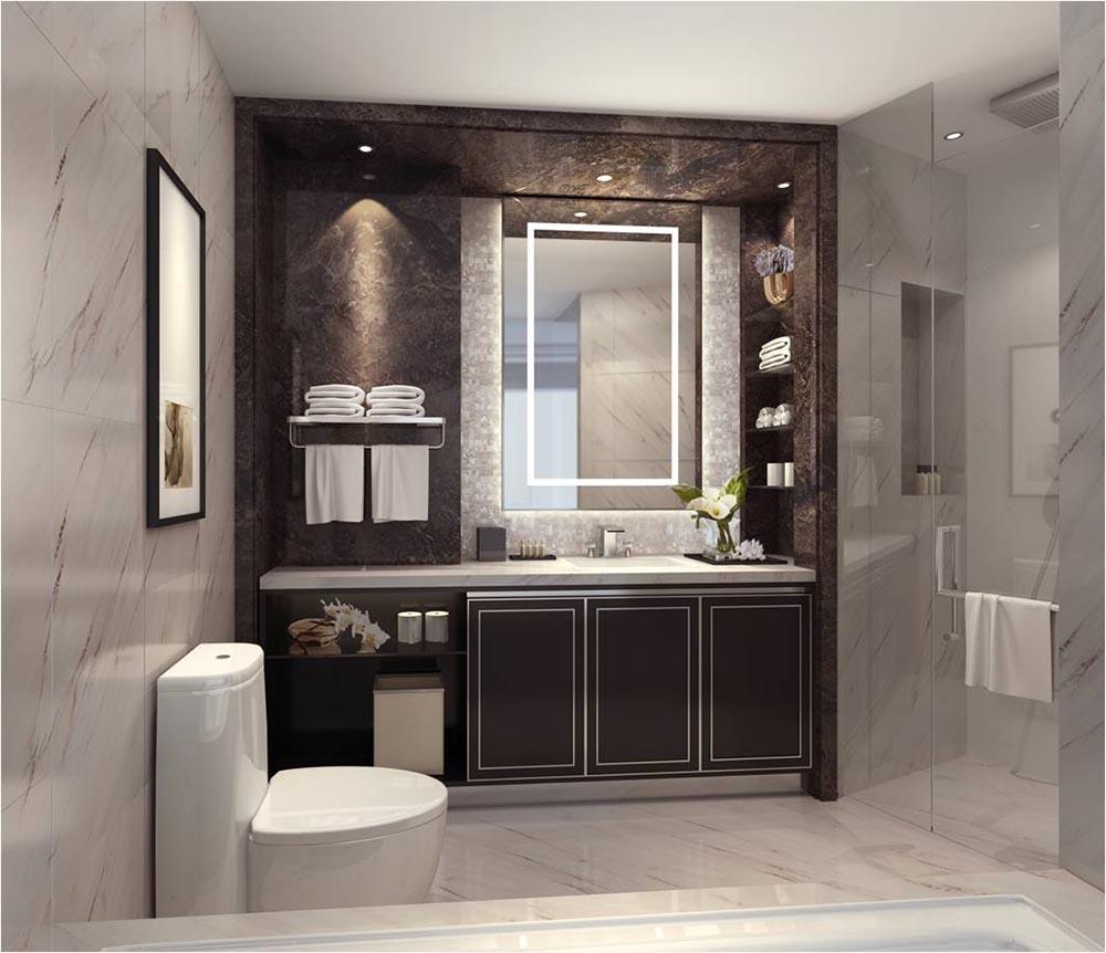 Top bagni in marmo lavorato con metodi tradizionali - Bagno marmo bianco ...