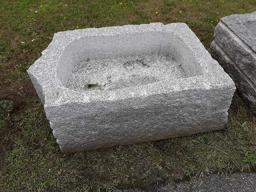 Vasca Giardino Pietra : Vasca fontana