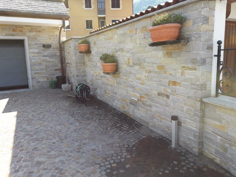 Rivestimenti interni ed esterni in pietra beole serizzi - Rivestimento muro esterno ...